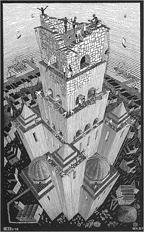 Tower of Babel MC Escher